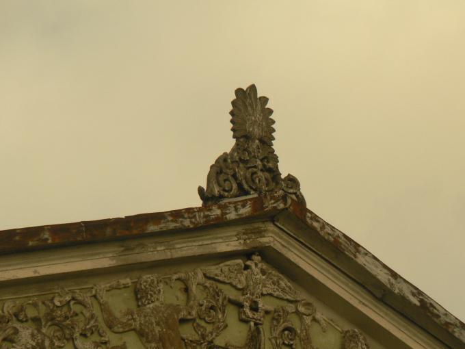 деталь фасада