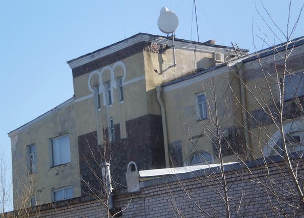 Неизвестное здание.
