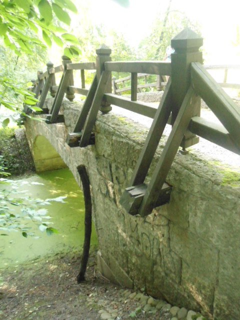 мостик старенький