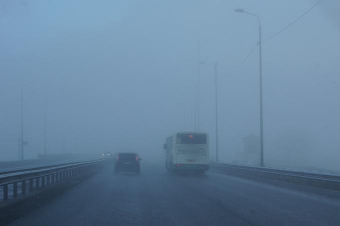 Туман. Где ?