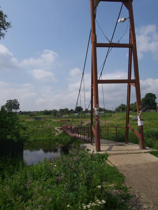 Ещё подвесной мост. Где?