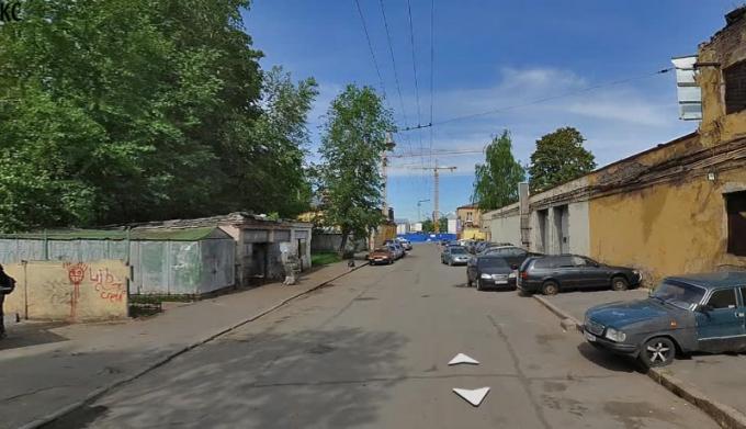 Какая это улица?