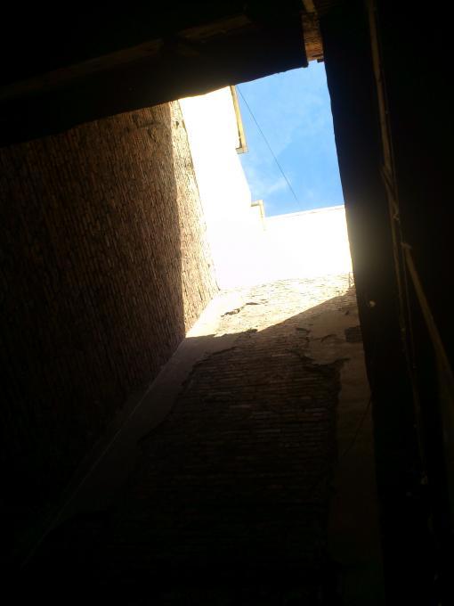 Заглянуло солнышко в мрачный мир колодца...