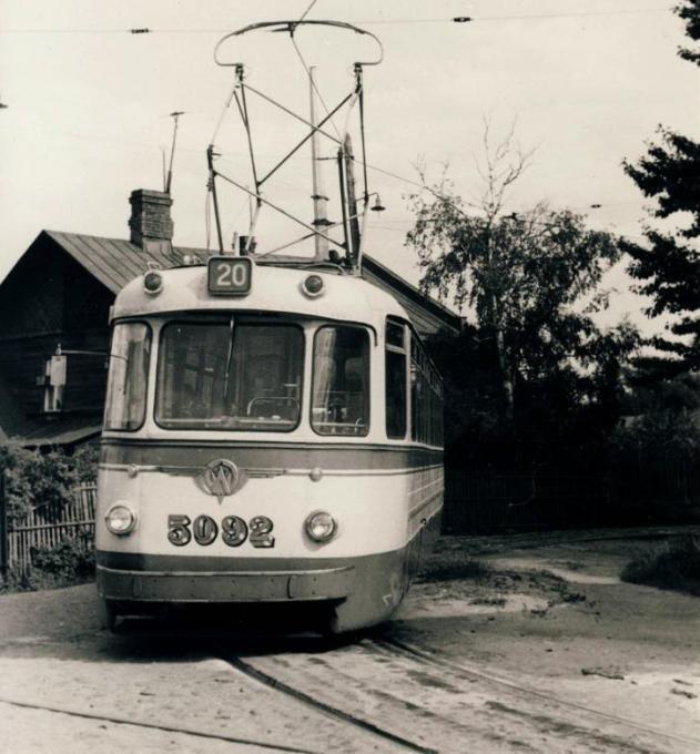 заблудившийся трамвай..