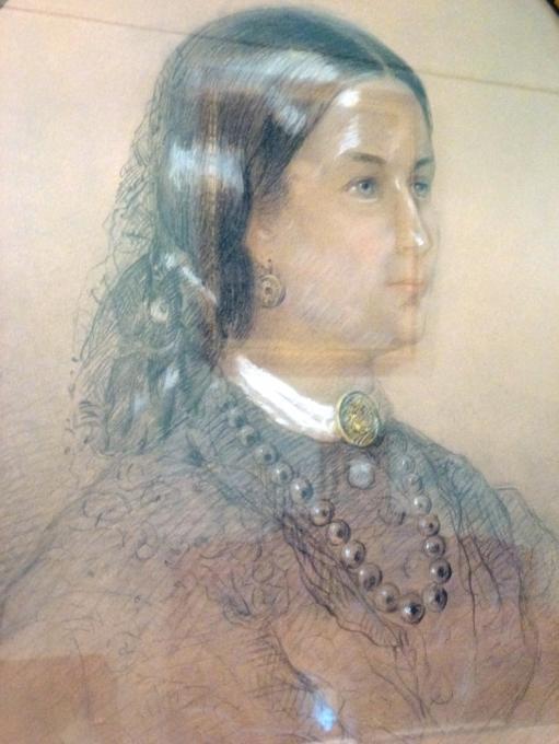 Кто это и где ее портрет можно видеть?