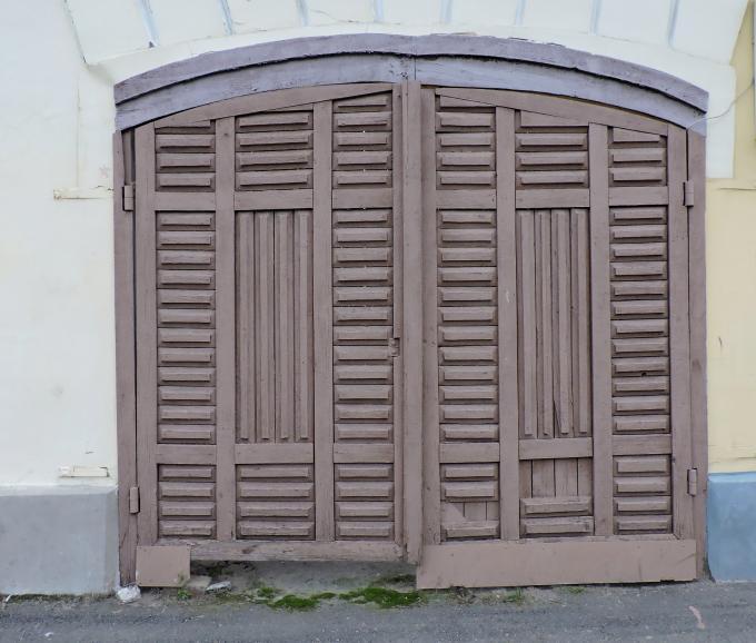 Чьи ворота?