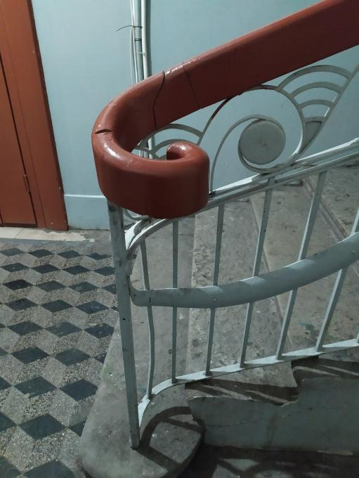 Завитки петербуржских лестниц