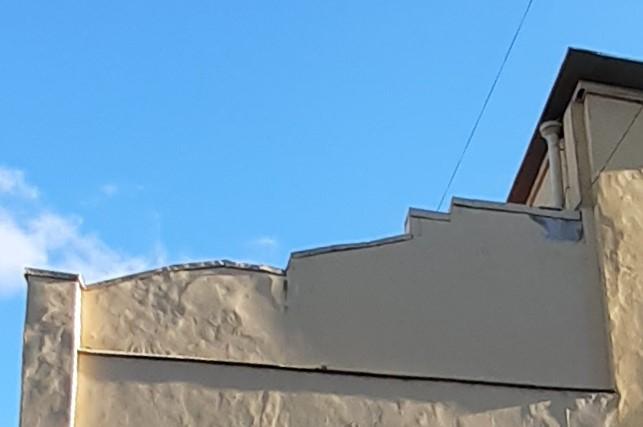 "Крыша ""лесенка"""