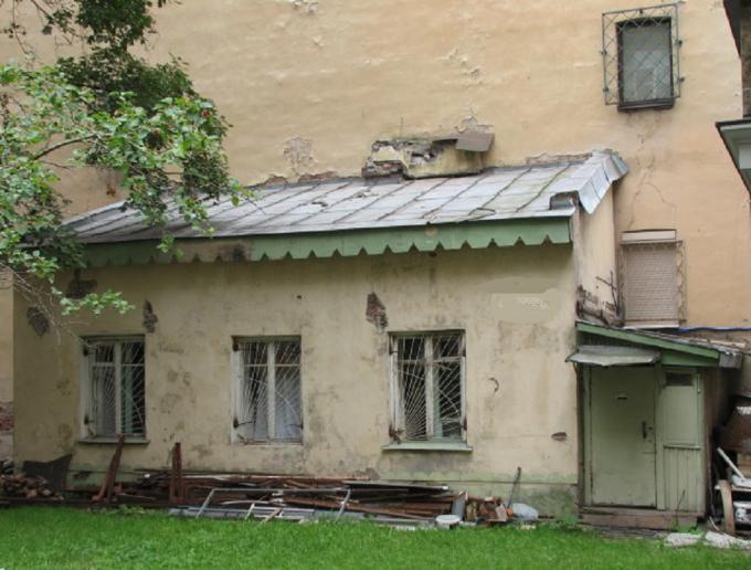 Квартира №1. Адрес ? (Фото 2013 г.)